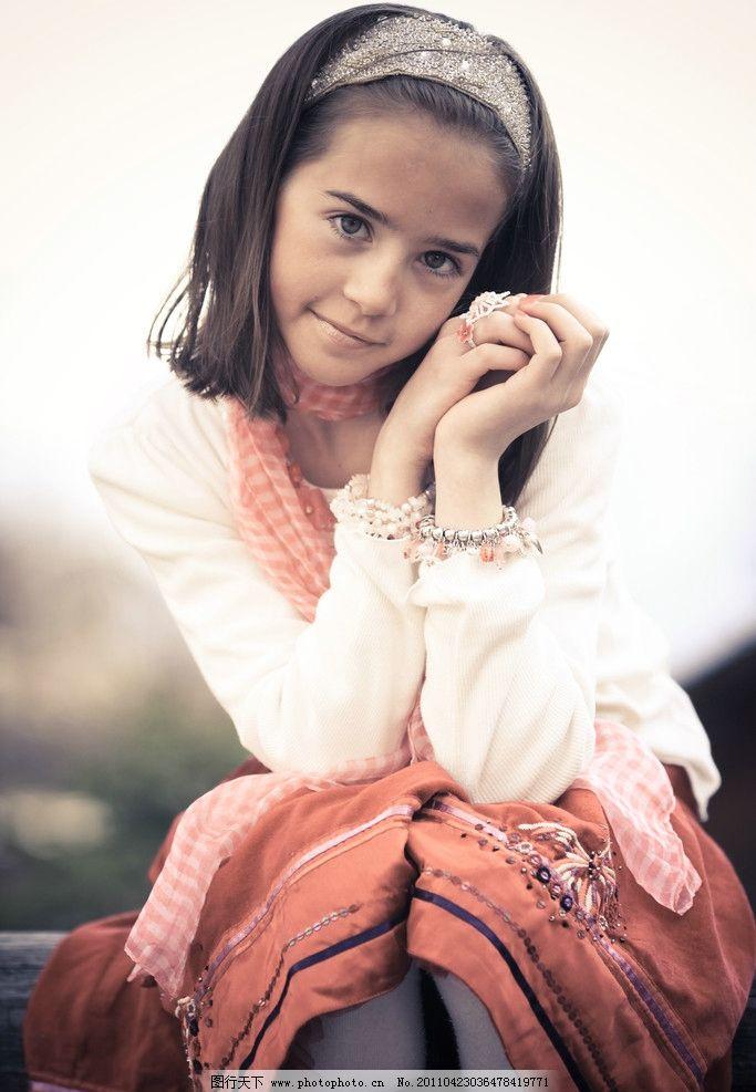 清纯可爱的英国女孩图片