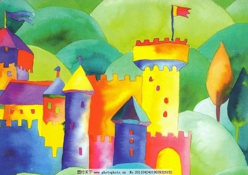 魔法城堡图片