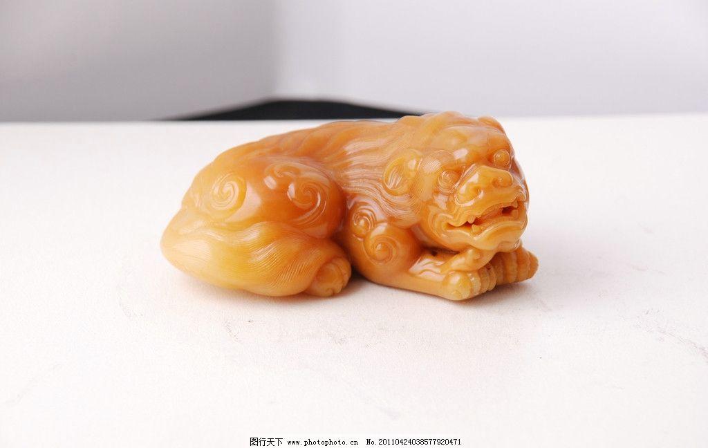 石狮/寿山石石狮图片