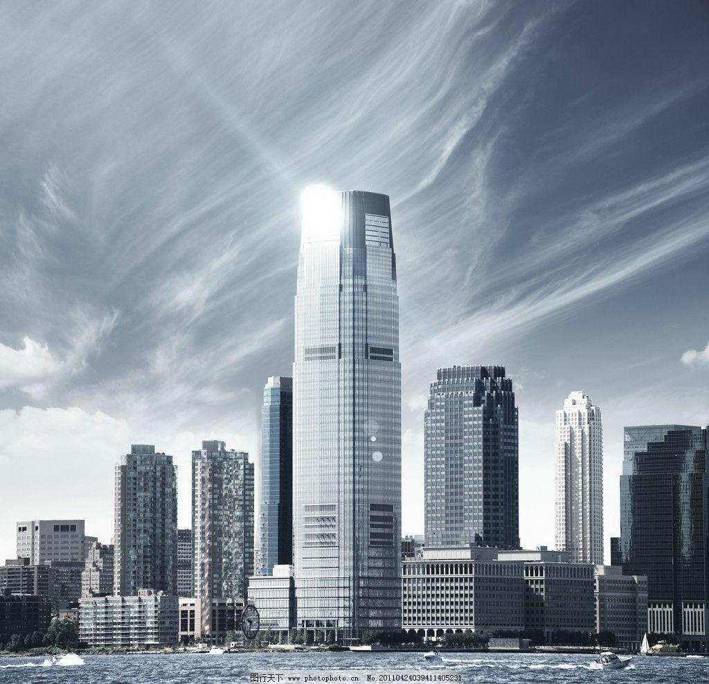 高楼大厦 沿海城市/沿海城市高楼大厦图片