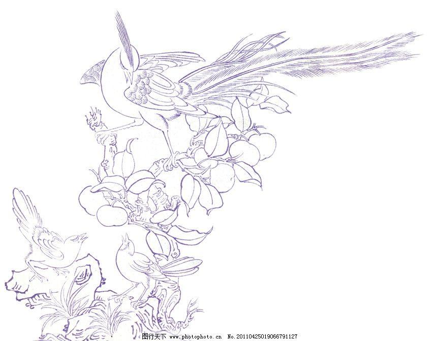 玉雕创意手绘图稿