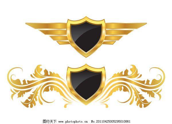 天使天使欧式徽章
