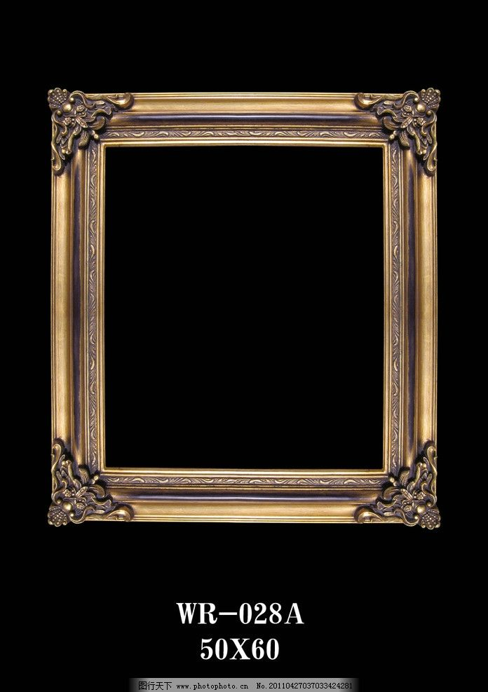 欧洲复古风格油画框 欧洲古典油画框 华丽 哥特复古风格 jpg图片素材图片
