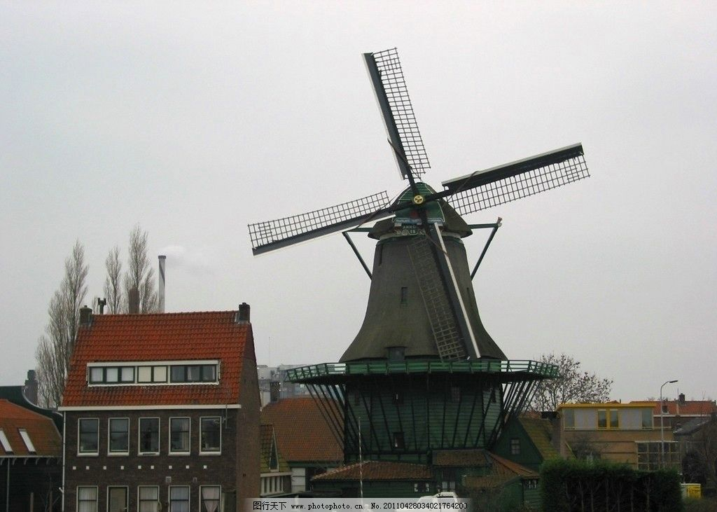荷兰风车 荷兰 风车 风车镇 风情小屋 国外旅游 旅游摄影 摄影 180dpi