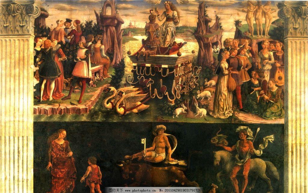 圣经名画 欧洲人物画 世界名画 油画古城 古典油画 西方油画 古建筑油