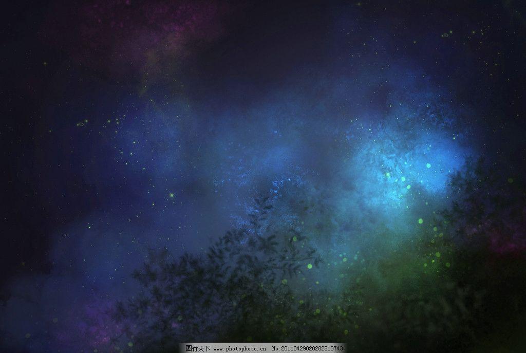 梦幻树林 森林 树木 童话 童话世界 浪漫 温馨 异国 情调 摄影背景
