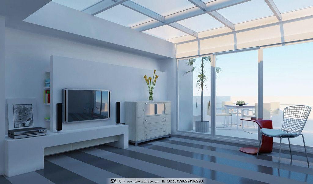 客厅图片 客厅电视背墙 阳台 室内设计 环境设计 设计 72dpi jpg