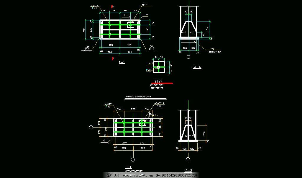 柱脚做法铰接 图纸 平面图 装修 装饰 施工图 钢结构 网架 桁架