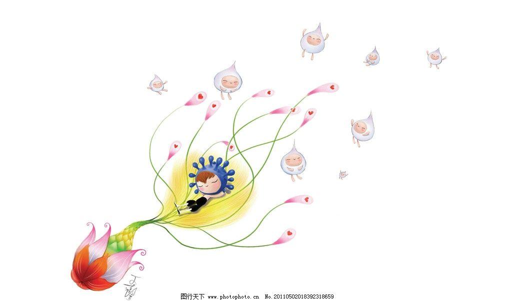 壁纸 清新 漫画 白色背景 线条 爱心 卡通儿童 动漫人物 动漫动画