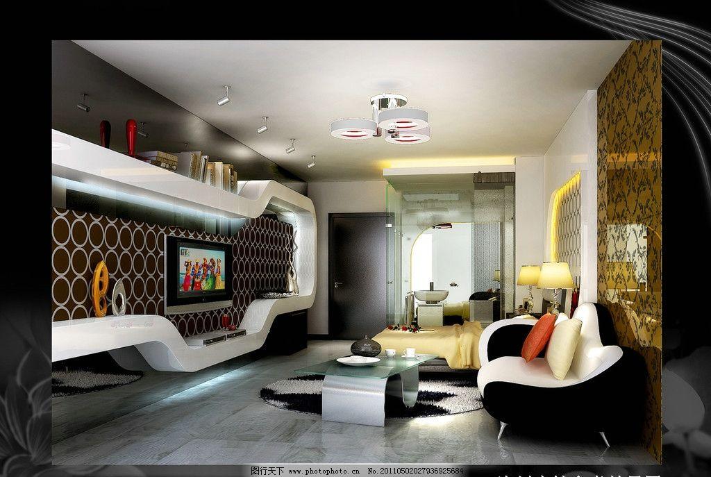 宾馆室内设计现代清新版图片