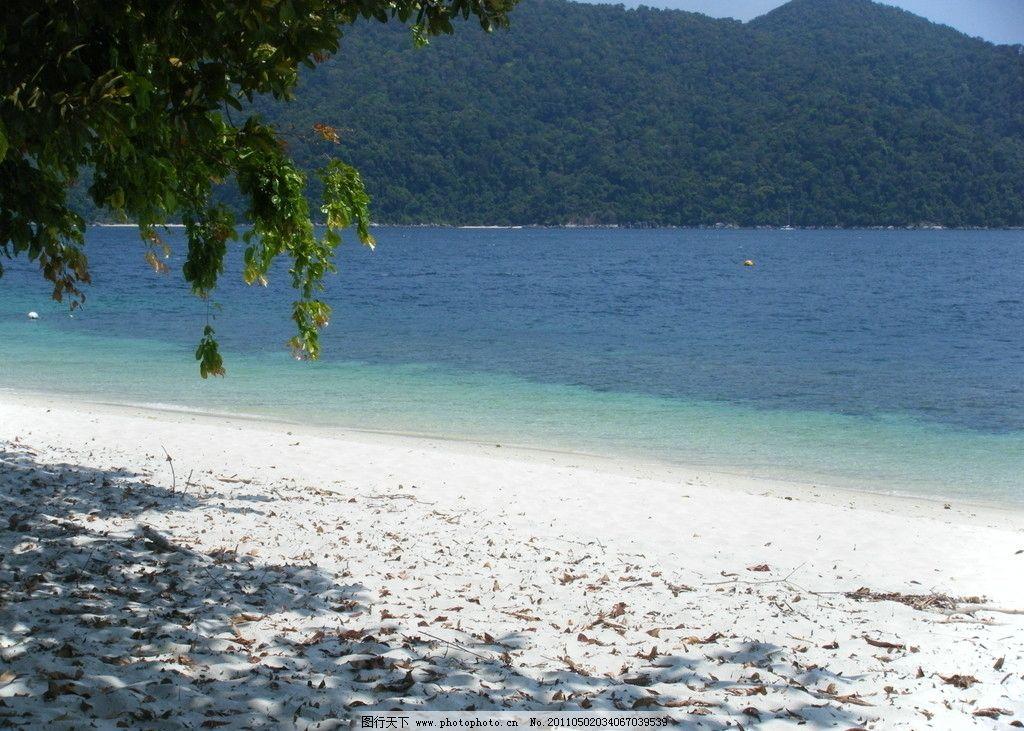 泰国海边风景人物图片
