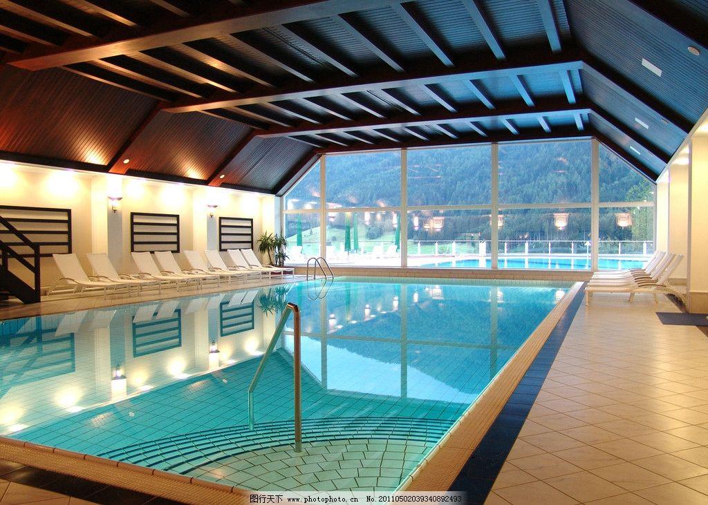 游泳池 酒店设计 五星级酒店 室内游泳池 游泳馆 水池 会所设计 豪华