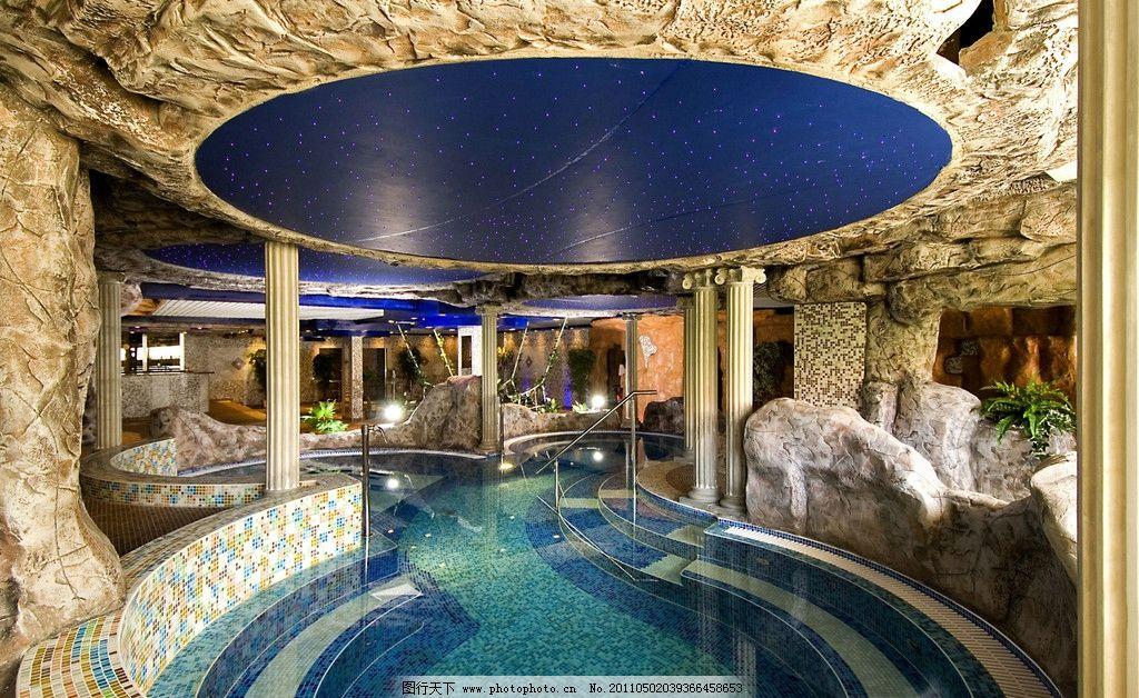酒店游泳池 酒店设计 五星级酒店 室内游泳池 游泳馆 水池 会所设计