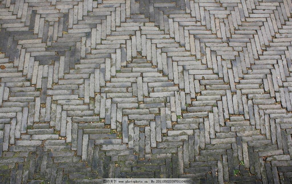 青石 砖头 石头 石面 地面 拼花 青苔 地砖 背景 素材 其他 建筑园林图片