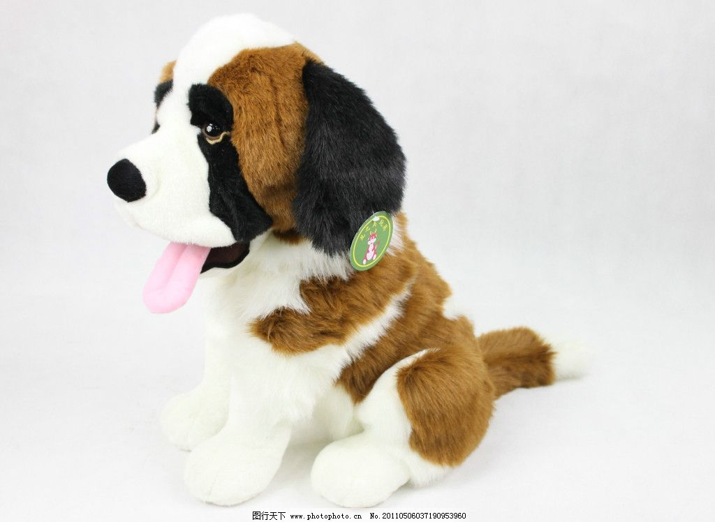 玩具 毛绒玩具一只可爱的小狗 娱乐休闲 摄影