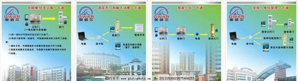 公寓式酒店x展架图片