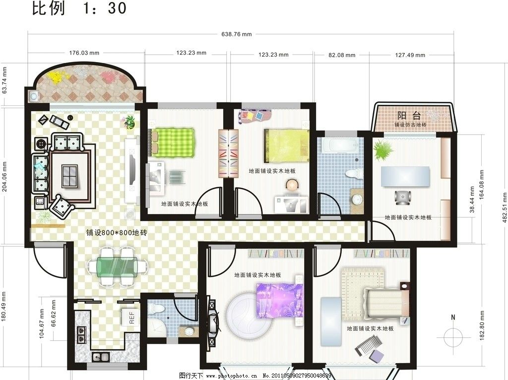室内设计平面效果图 室内设计 平面效果图 室内平面效果图 建筑家居
