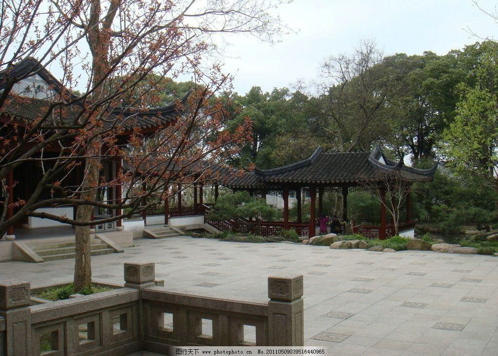 中式园林庭院图片图片