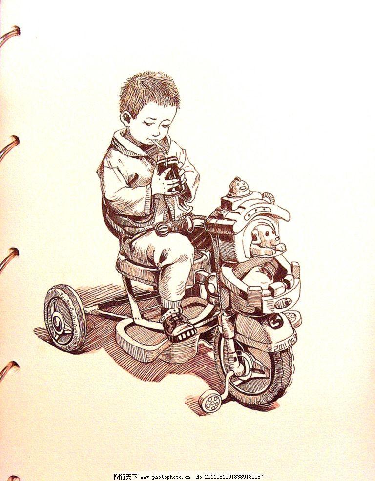 童车 骑车 小孩