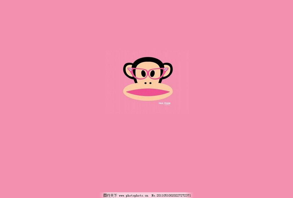 卡通桌面 桌面 背景 猴子 背景底纹 底纹边框 设计 72dpi jpg