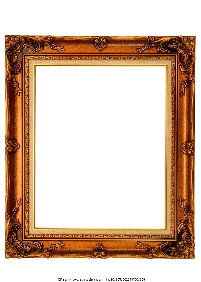 古典相框边框图片