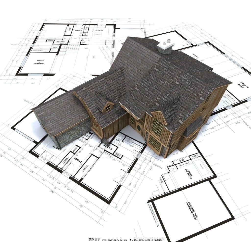 3d建筑模型图纸