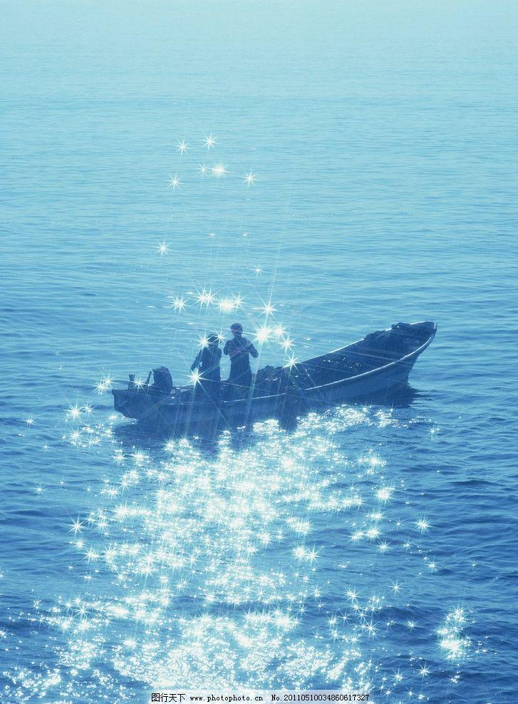 渔船 水 船 风光 渔夫 水面 海面 自然风光 自然风景 自然景观 摄影