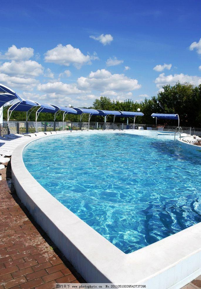 游泳池高清 露天游泳池 水池 酒店设计 五星级酒店 酒店会所 会所设计