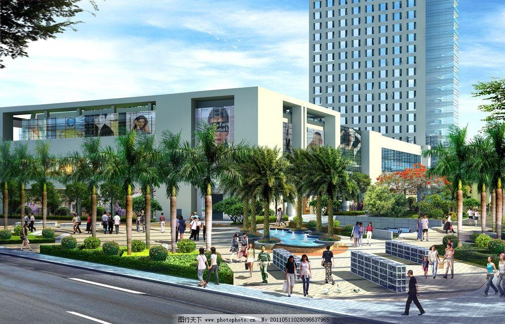 商业大楼设计效果图图片