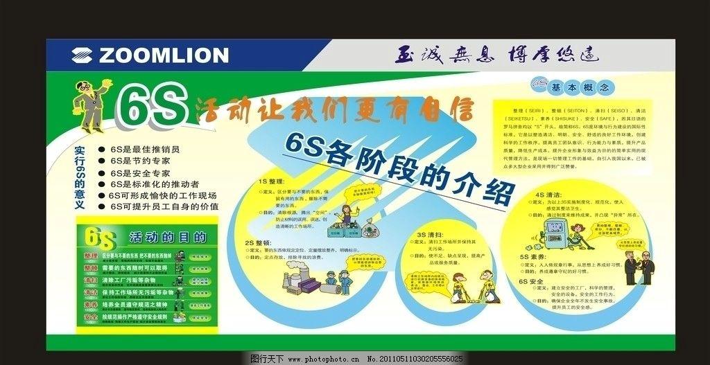 6s介绍展板 展板 企业      大气 素雅 绿色 展板模板 广告设计 矢量