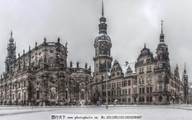 欧式风格建筑免费下载 建筑 建筑物 建筑效果图 建筑 建筑物 建筑效果