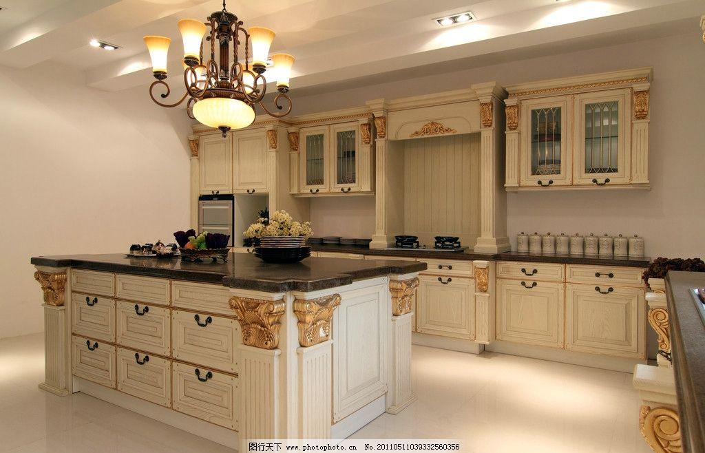 欧式厨具家具图片