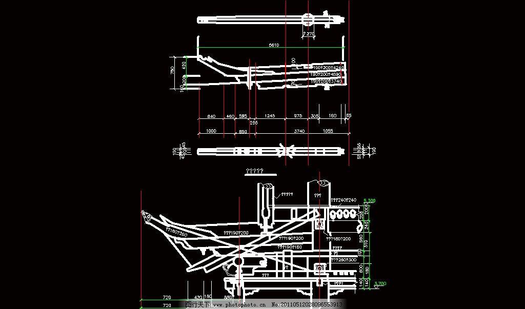 古建筑室内空间结构
