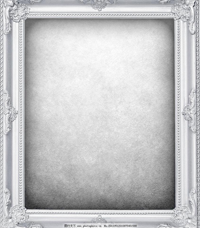 欧式图案 欧式背景 像框图片