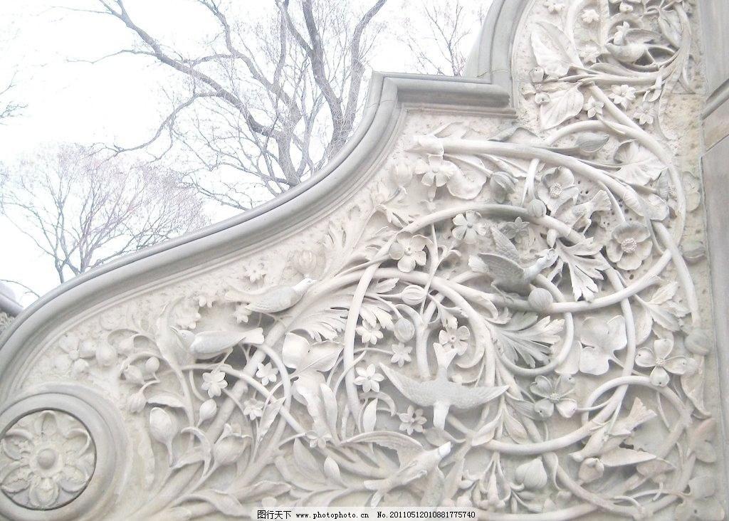 欧式建筑雕花 雕塑 花鸟 建筑园林 墙 墙面 欧式建筑雕花图片素材下载