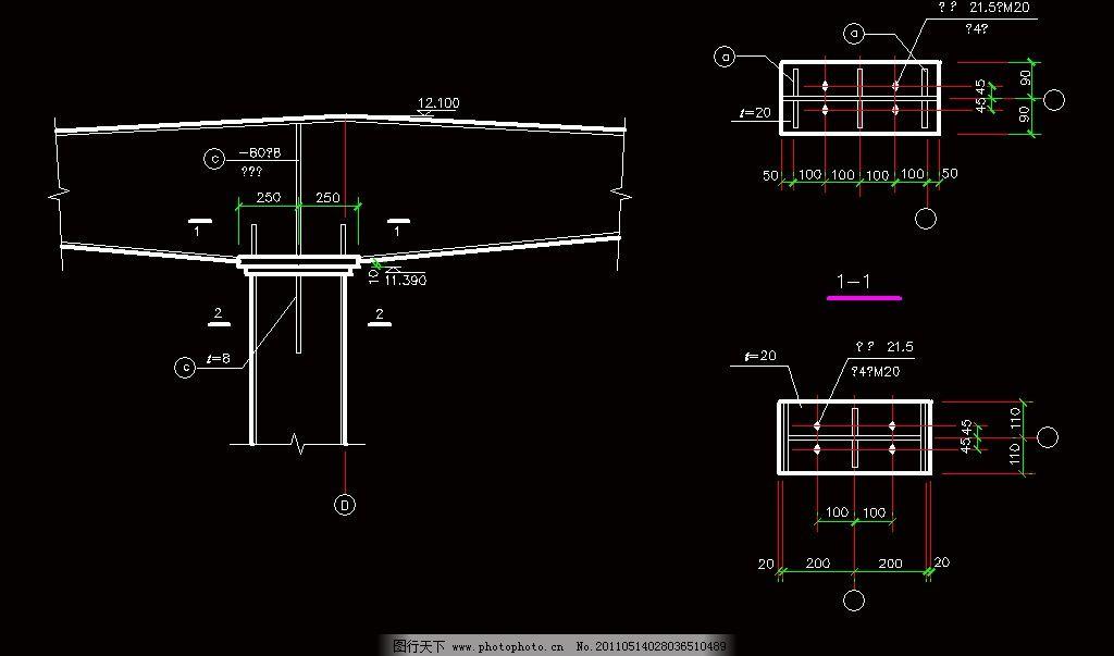 钢结构抗风柱节点