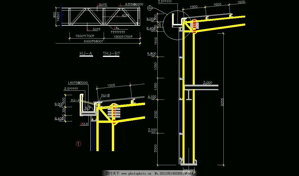檐沟(墙架在外) 檐沟墙架在外 图纸 平面图 装修 装饰 施工图
