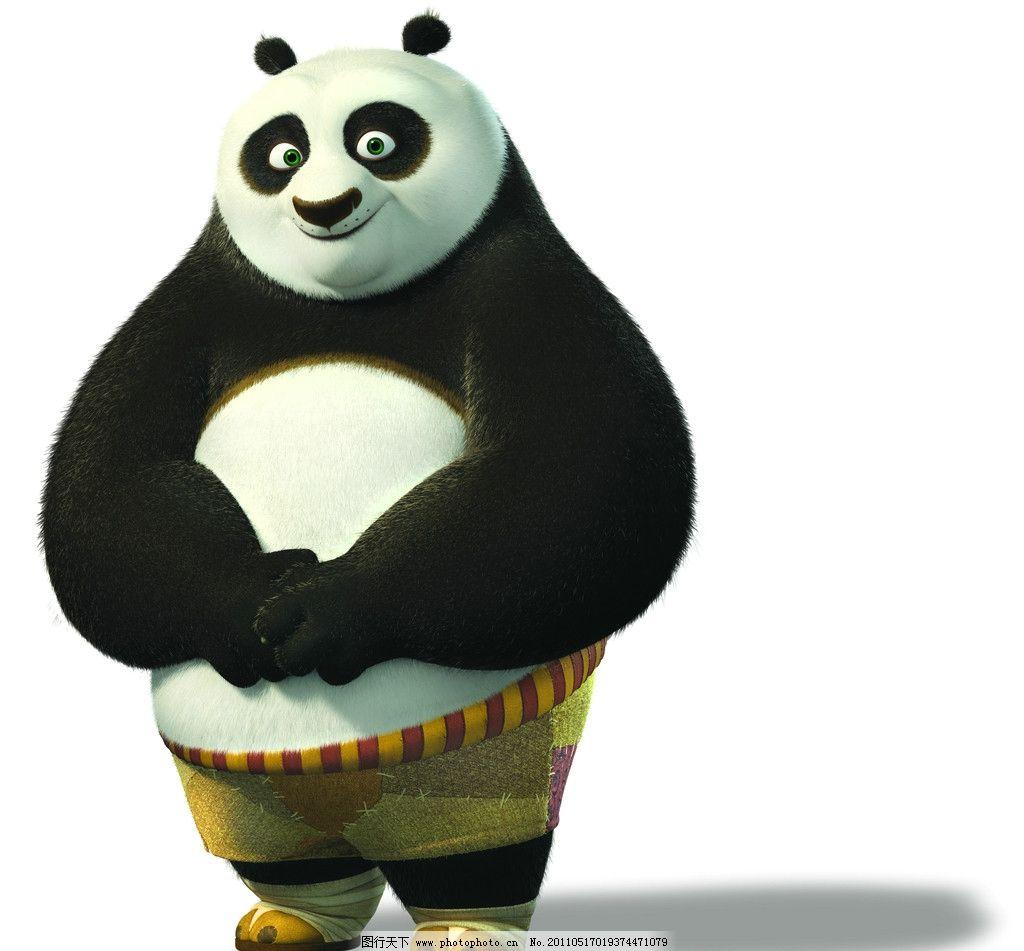 功夫熊猫 人物素材 动漫 动漫素材 可爱 影视娱乐 文化艺术
