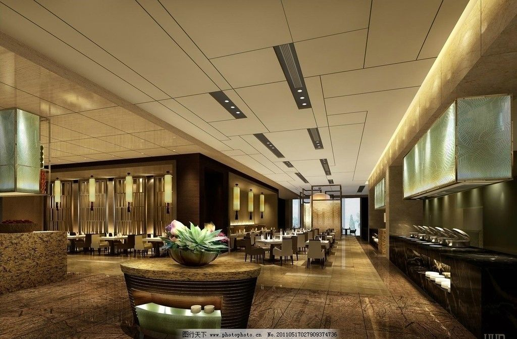 万达皇冠假日酒店内部设施 室内设计 吊顶 沙发 书柜 桌椅 环境设计