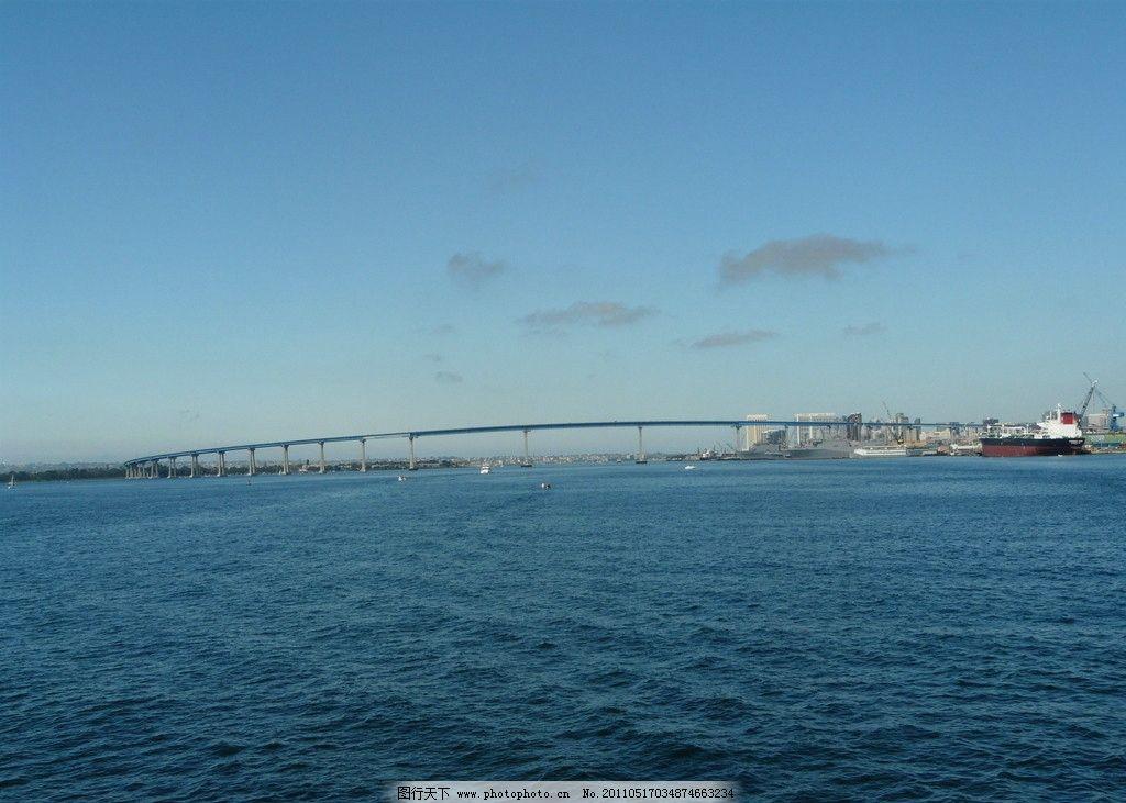 蓝天大海 白云 天空 云朵 云彩 自然 风景 乌云 拱桥 自由