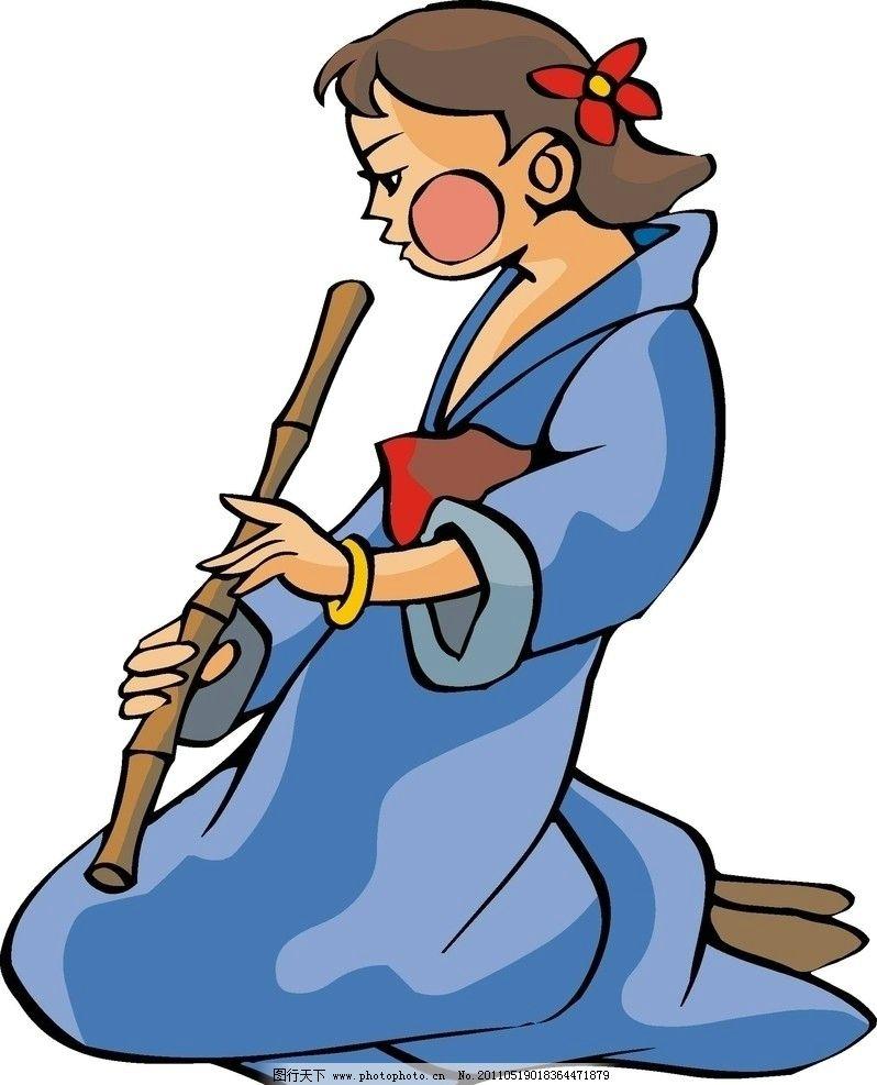 漫画人物 古代漫画人物 卡通人 动漫人物 动漫动画 设计 300dpi jpg