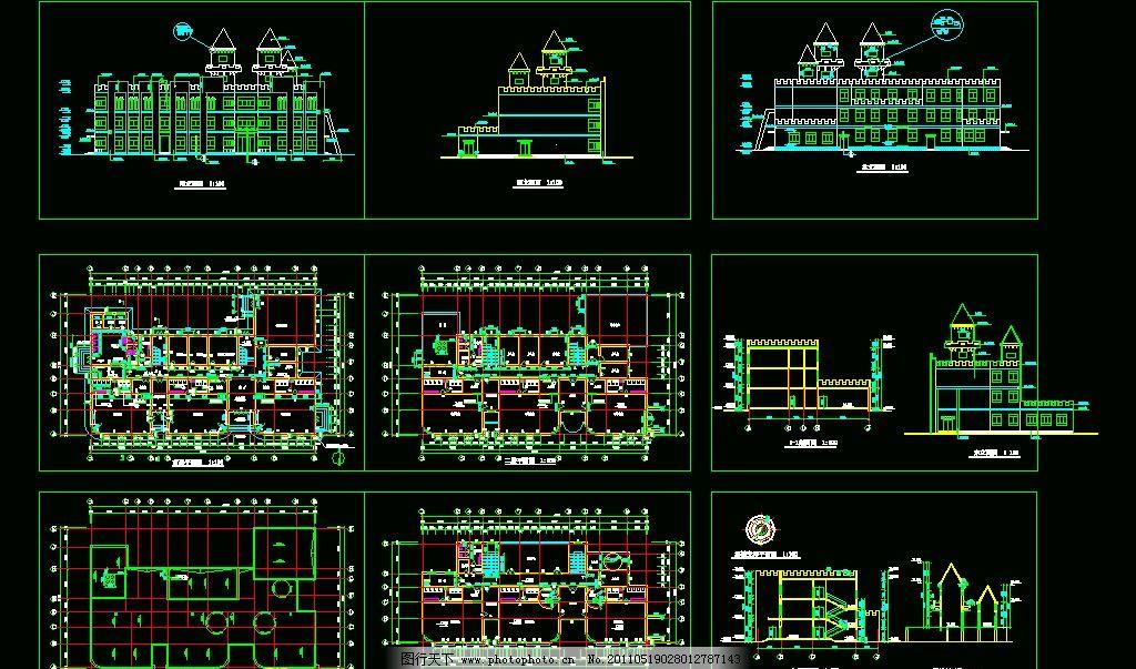 幼儿园室内环境创设平面设计图