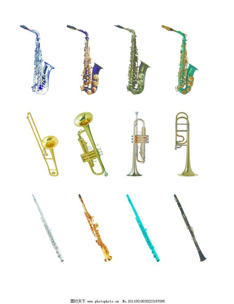 乐器厂彩页 乐器厂 印刷彩页 乐器 萨克斯 笛子 dm宣传单 广告设计