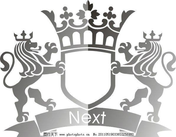 狮子素材 狮子 皇冠 矢量素材 皇冠狮子 cdr素材 矢量图 其他矢量