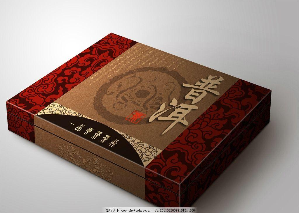 茶叶礼盒(展开图)图片_包装设计_广告设计_图行天下