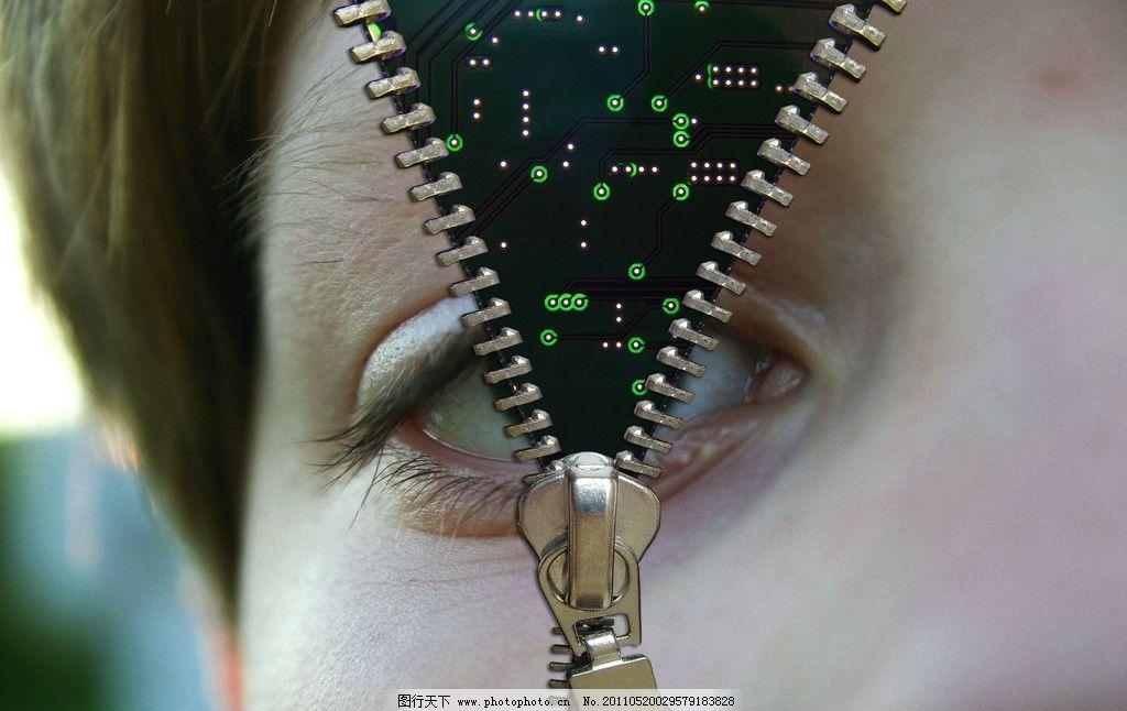 人脸 电路板图片