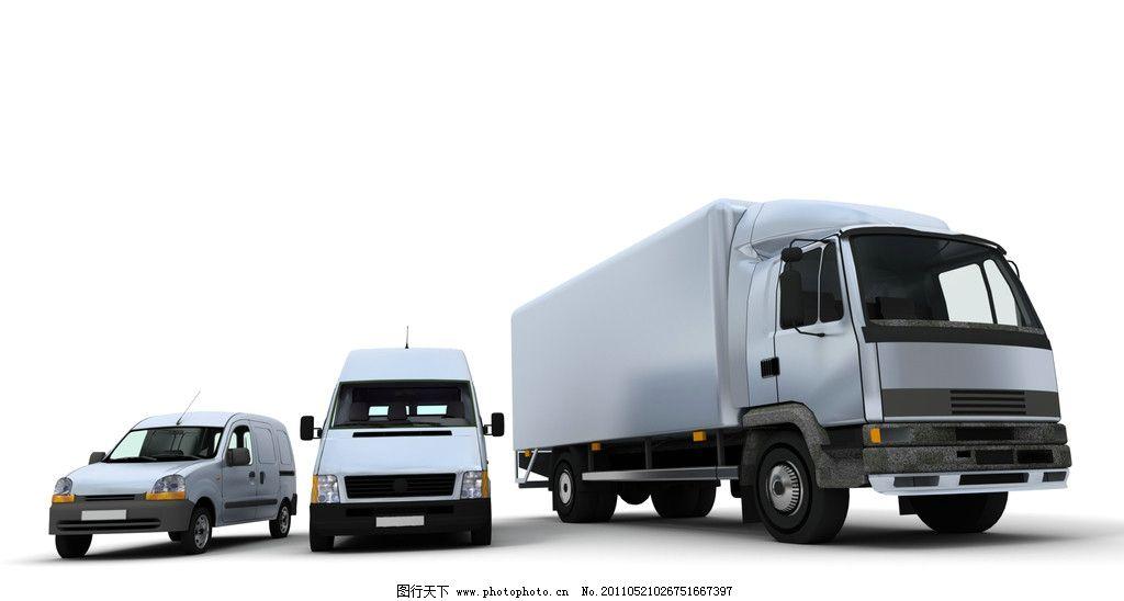 货车快递车商务车 货车 快递 货运 商务 汽车 交通工具 现代科技 设计