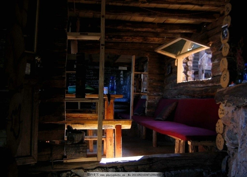 木屋 云南 少数民族 房子 室内 古建筑 建筑景观 摄影