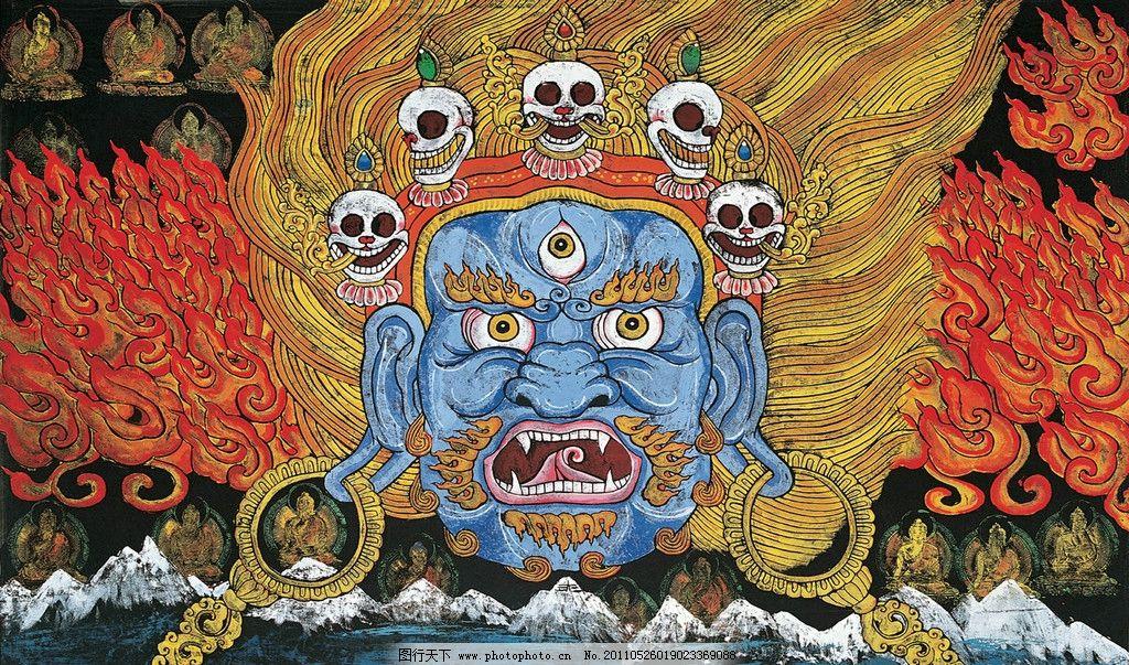 藏族幼儿园的美术图片