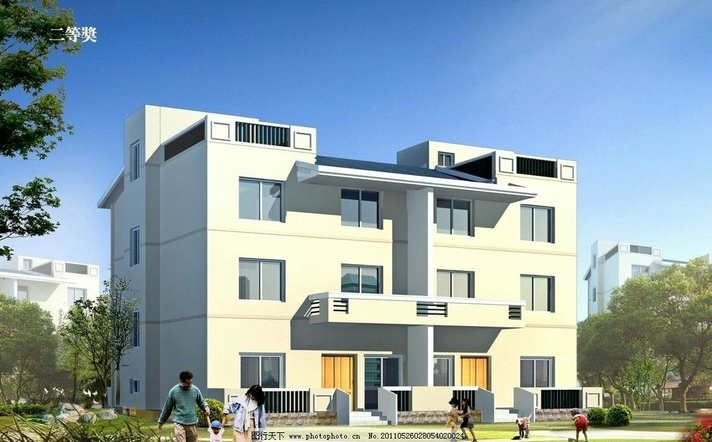 建筑设计  江西农村住宅 新农居 农村 乡镇 农民 住宅 小别墅 房屋